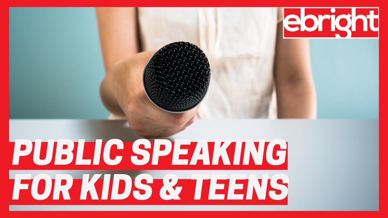 Public Speaking for Kids & Teens