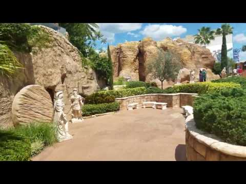 Holy Land Experience POV Walk Thru Part 1 (Entrance, Gardens and Tomb)