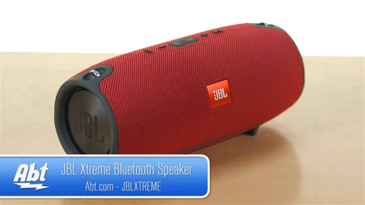Jbl Xtreme Splashproof Portable Bluetooth Speaker Jblxtreme Overview Youtube