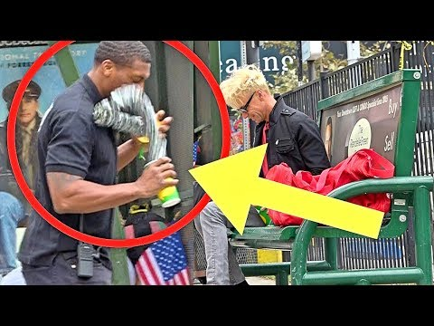 SECURITY GUARD PRANKED with INSANE MAGIC!!!