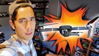 CRASHING drones is my hobby