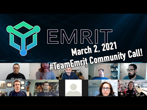 #TeamEmrit Community Call - March 2, 2021! - Ordering Process, RDP Updates, Staking $HNT with Us?
