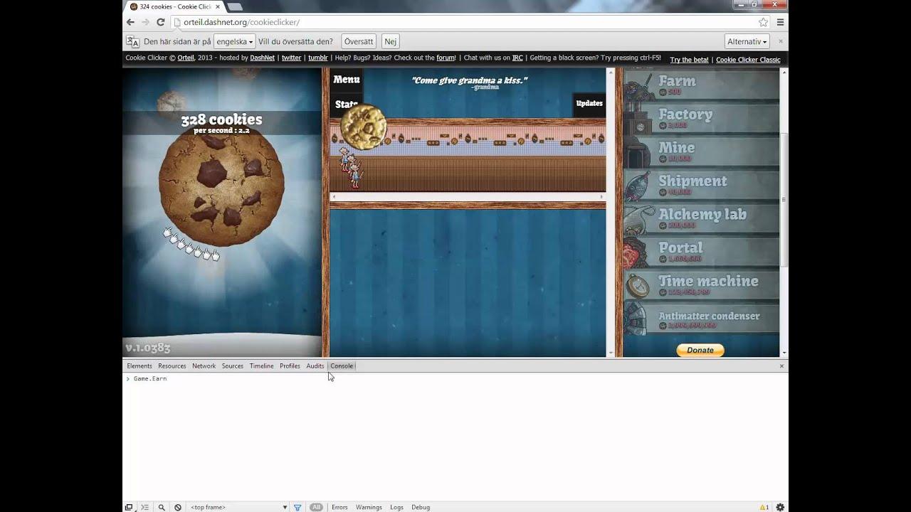 Cookie clicker fusk svenska