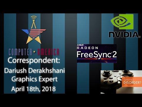 Dariush Derakhshani, Graphics Expert, Talks FreeSync 2, Smart Fabrics, Gaming Disorders