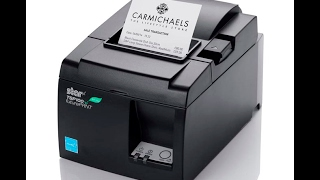 The star tsp100 receipt printer is a cost-effective solution used by retailers across globe. with your paired and installed on ...