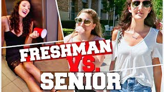 freshman vs. senior