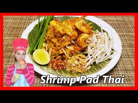Shrimp Pad Thai  ผัดไทยกุ้งสด