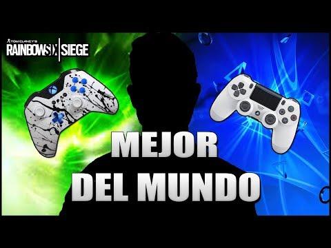 REACCIONANDO al MEJOR JUGADOR DE CONSOLA del MUNDO | Caramelo Rainbow Six Siege Gameplay Español