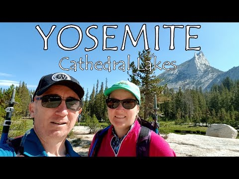 Cathedral Lakes Hike - Tuolumne Meadows - Yosemite National Park