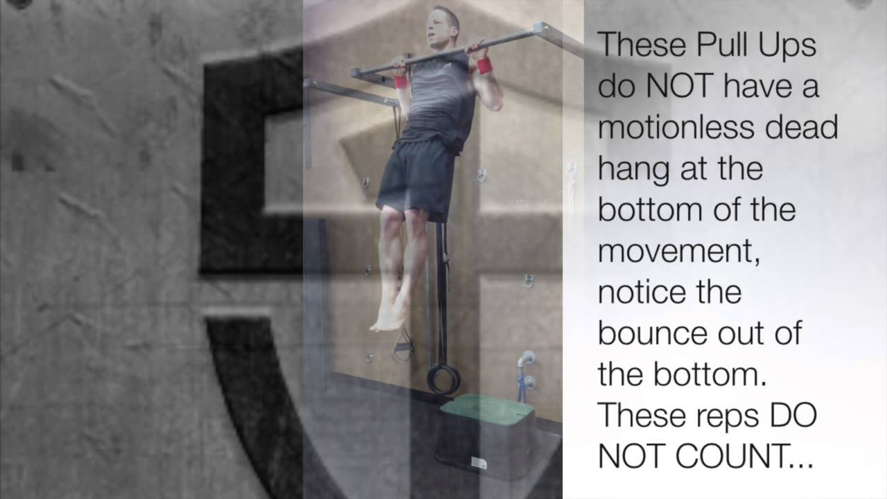 TSC - Tactical Pull Up Form Examples