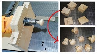 Making a Drawer Pull with a very simple and amazing idea!!