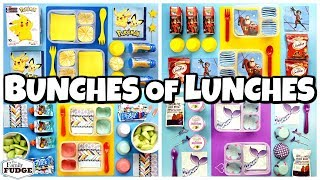 HOT LUNCHES and SANDWICHES! + What They Ate 🍎 School Lunch Ideas for KIDS