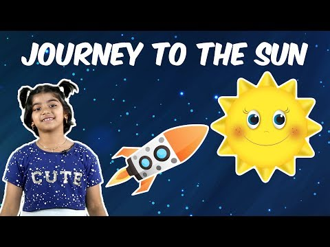 Journey to the Sun | Vertical Video | Science Story #01