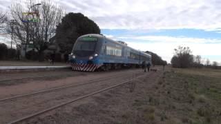 Tren inaugural de Trenes Argentinos a General Pico pasando por Speluzzi