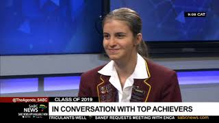 In conversation with 2019 matric top achievers