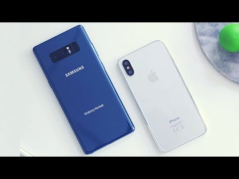Top 5 Reasons Why the Galaxy Note 8 is Better Than the iPhone X