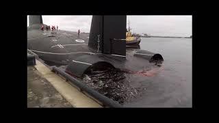 Как провожают и встречают моряков АПЛ «Дмитрий Донской»