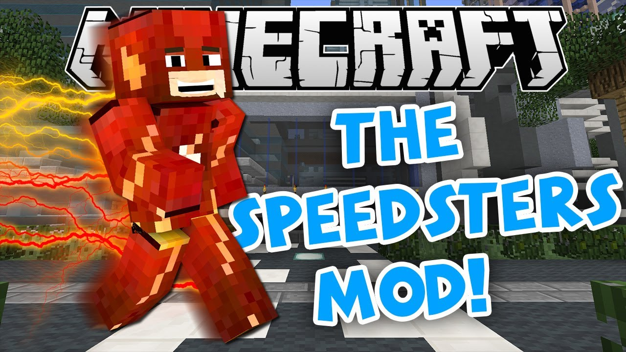 Minecraft Mod Showcase | SPEEDSTER HEROES MOD UPDATE!!! (Time Remnants, New  Suits, & MORE!)