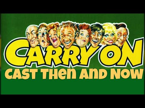 Carry On Film Cast Then And Now