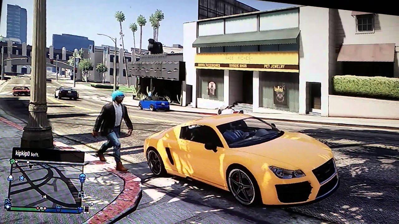 GTA 5 COMMENTARY (New Car) Spending live 300,000$ - YouTube