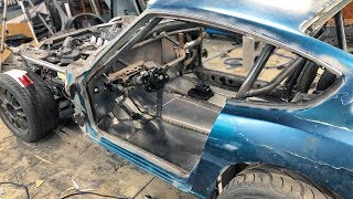 240z Gets Custom Built Floor Pans, Firewall, And Trunk!