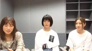 2018年9月15日(土)3じゃないよ!北川綾巴vs小畑優奈vs斉藤真木子