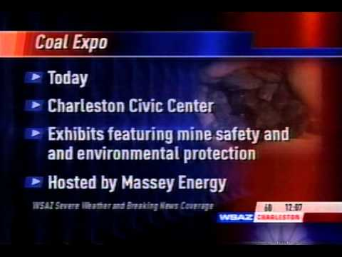 Massey Energy hosts Coal Expo on WSAZ