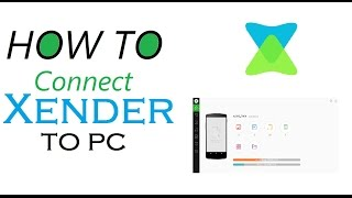 How To Connect Xender to PC