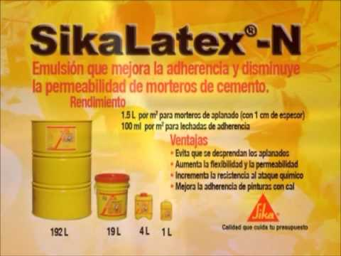 Productos sika contra goteras y salitre youtube for Productos sika para piscinas