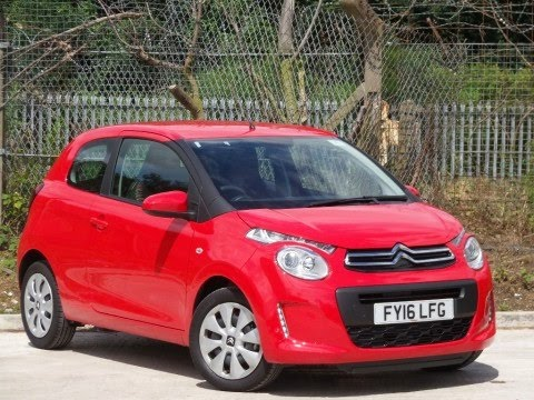 2016 16 citroen c1 1 2 puretech feel 3dr in scarlet red demo youtube. Black Bedroom Furniture Sets. Home Design Ideas