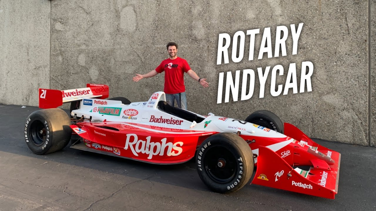 I bought a INDYCAR without an engine.
