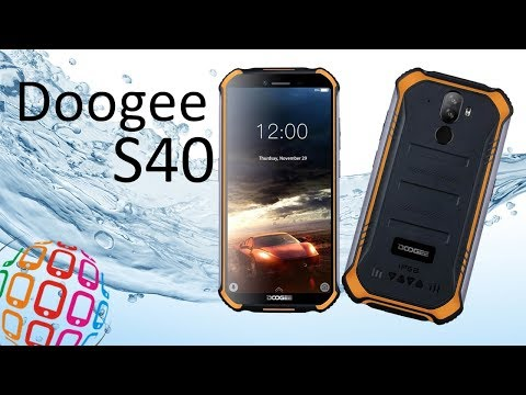 Защищенный смартфон Doogee S40