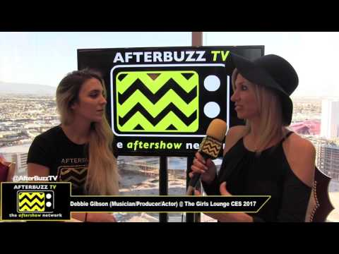 Debbie Gibson at The Girls Lounge CES 2017