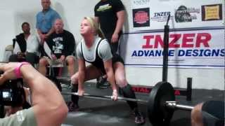 Caitlyn Trout - 625 raw total @ 119lbs