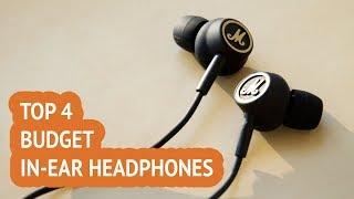 Video 4 Best Budget In-Ear Headphones 2018 Reviews download MP3, 3GP, MP4, WEBM, AVI, FLV Juli 2018