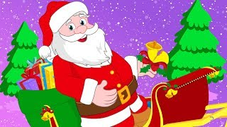 Merry Christmas with Santa Song Christmas Nursery Rhymes Songs for Kids
