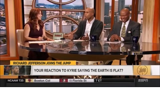 The Jump - Reaction to Kyrie Irving and Flat Earth - Mark Sargent ✅