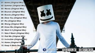 Marshmello Greatest Hits 2017 - Best Songs Of Marshmello - Top 20 Songs of Marshmello