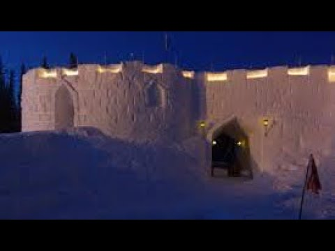 24 HOUR OVERNIGHT CHALLENGE IN A SNOW FORT!!