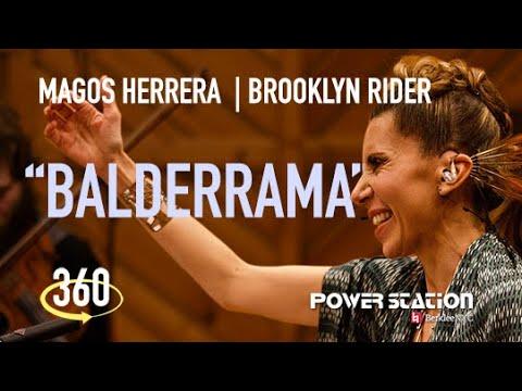 "Magos Herrera & Brooklyn Rider: ""Balderrama"" - 360 Video"