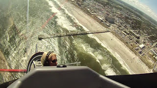 Patty Wagstaff In Cockpit CLIP - Jacksonville Beach 2015