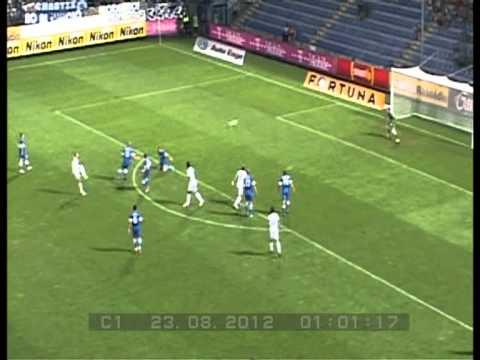 Evropská liga, Play- off, Liberec vs Dněpropetrovsk 2:2