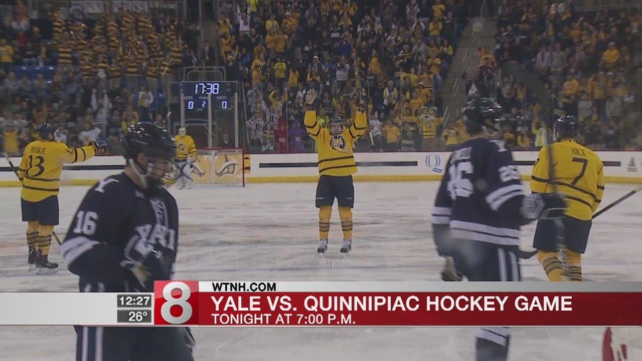 Quinnipiac Vs Yale Hockey On Mytv9 Tonight