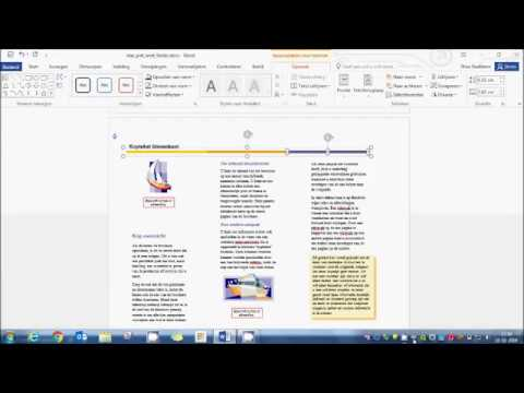 een folder maken in ms word 2016 deel 1 sd - youtube