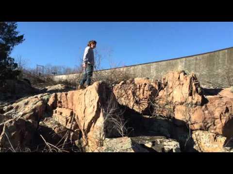 Troop 403 searching the rocks at Shepherd Mountain Lake in Ironton, MO(Arcadia Valley
