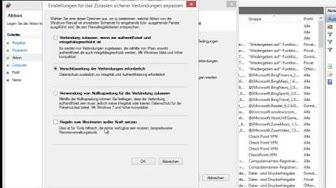 Programm blockieren mit Windows Firewall