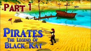 Pirates: The Legend of Black Kat walkthrough (part1)