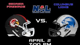 Columbus Lions vs Georgia Firebirds