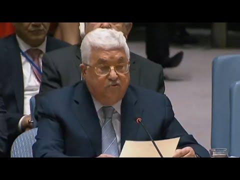 عباس يدعو أمام مجلس الأمن إلى -مؤتمر دولي للسلام- منتصف 2018  - نشر قبل 2 ساعة