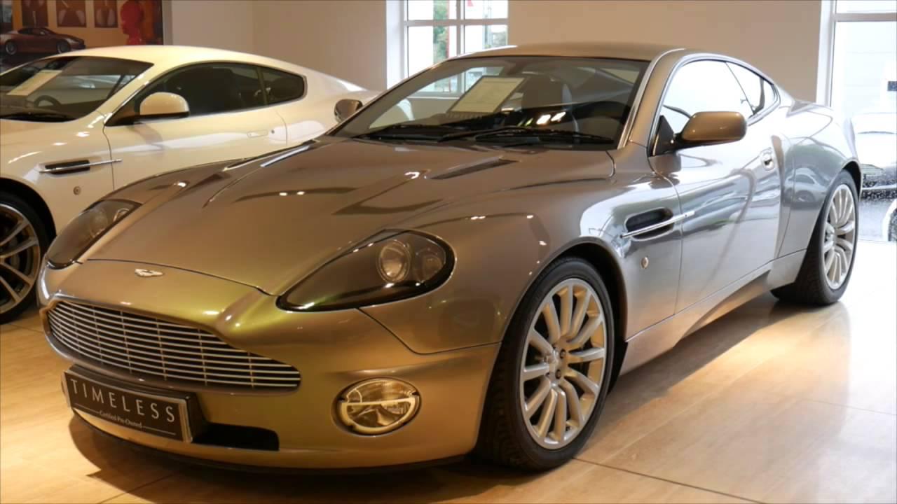 Aston Martin Vanquish YouTube - 2001 aston martin vanquish